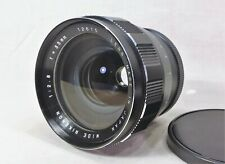 Wide Rikenon Lens f/2.8 f=35mm Made in Japan 12615 Frozen - Parts or repair