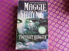 Twilight Hunger by Maggie Shayne Wings of the Night series - paranormal romance