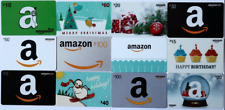 Lot of 12 Different Amazon Gift Cards Empty $0 No Value Collectible