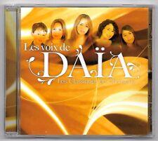 CD / LES VOIX DAÏA LES CLASSIQUES EN CHANSONS / 22 TITRES (ALBUM ANNEE 2009)