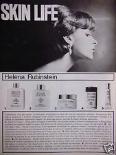 PUBLICITÉ 1965 CRÈME SKIN LIFE HELENA RUBINSTEIN - ADVERTISING