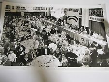 1950's Natl. Assn. Rainbow Division Veterans Reunion  B&W Photograph