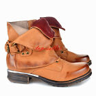 SIZE 4-10 Women's Goth Punk Retro Buckle Roma Riding Motorcycle New Ankle Boots