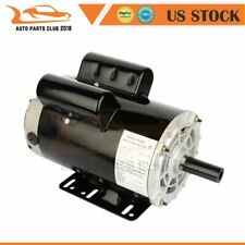 Air Compressor Electric Motor 5 HP 56 FRAME 3450 RPM 2 POLE Single Phase CCW