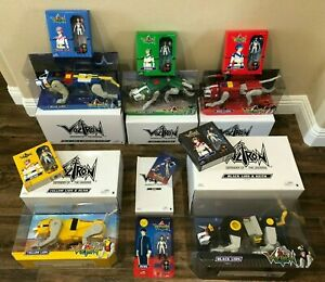 Voltron Mattel Matty Collector Set ALL 5 Lions and ALL 5 Figures with SVEN * New