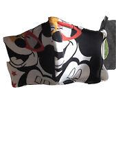 masque barrière En Tissu Coton Mickey. Avec Filtre Feutrine Incorporez Dans Le M