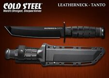 Couteau Tactical Cold Steel Leatherneck Tanto Lame Acier D2 Etui Kydex CS39LSFCT