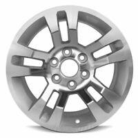 New 18x8.5 Aluminum Wheel Rim 2014-2019 Chevy Silverado 1500 Silver 6 Lug 139.mm
