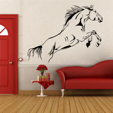 Wall Sticker Removable Running Horse Decal Home Decoration Mural for Living Room