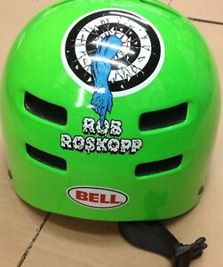 BELL FACTION Skate Helmet Electric Green Rob 1 Size Large 58-63cm