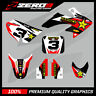 HONDA CRF 50 MOTOCROSS GRAPHICS MX GRAPHICS KIT DECAL KIT ROCKSTAR