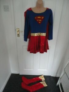 Supergirl outfit. Approx size 18