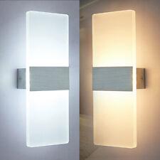 6W 12W LED Wandleuchte Treppenleuchten Dechkenlampe Wandbeleuchtung Effektlampe