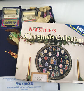 Mary Hickmott's New Stitches The Nights before Christmas Cross Stitch Kit