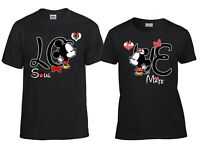 Couple Matching Love T-Shirt Funny Cute Soul Mate Tees Matching shirt sney Famil