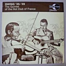 Vintage 33⅓ LP - Swing '35-'39 The of The Quintet Hot Club of France - ECM 2051