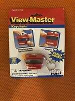 Vintage View-Master 1997 Basic Fun Miniature Keychain Toy with Reel Works New