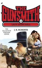 THE GUNSMITH #346 LADY EIGHT BALL BY J. R. ROBERTS SOFT COVER WESTERN BOOK GUC