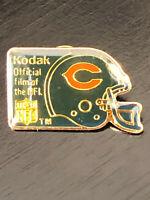 Vintage Collectible Kodak Film of NFL Colorful Metal Pin Back Lapel Pin Hat Pin