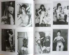 Akt Foto Klassik NACKT 1956 Busen Frau behaart Girl GONDEL fkk  Woman DDR sexy