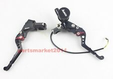 "Adelin CNC PX-2 Brake Clutch Levers Master Cylinder For Ruckus Zoomer 7/8"" Black"