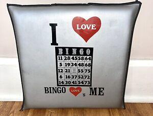 BINGO themed novelty travel chair Cushion Pillow