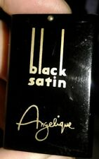 VTG 40s Black Satin Lighter Style Perfume Atomizer By Angelique Lady Sterling