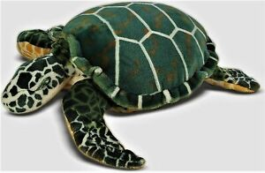 "Melissa & Doug Sea Turtle Plush Giant Stuffed Animal Kids Cuddle Toy 34"" New"