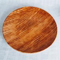 Royal Stafford Faux Bois Plate Platter Joel Kaplan Forest Winter Tablescape 12.5