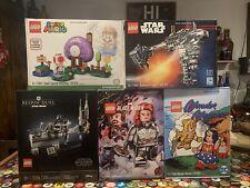 LEGO 2020 SDCC FANDOME USA LIMITED EDITION SETS:  77904 77905 77906 77907 75294