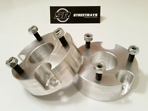 """[SR] 3"""" Billet Front Leveling Spacer Lift Kit 15-21 Chevy Colorado / GMC Canyon"""