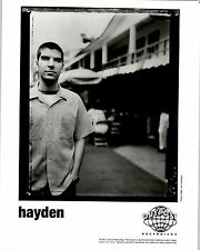 RARE Original Press Photo of Hayden an Alternative Country Singer Songwriter