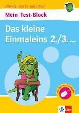 Mein Test-Block Das kleine Einmaleins. 2./3. Klasse mit Online-Übungen (2016,...