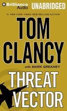 THREAT VECTOR (Jack Ryan Novel) unabridged audio book CD by TOM CLANCY Brand New
