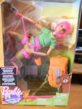 Barbie Camping Fun Made to Move Doll Climbing Gear Ultimate Posable NEW
