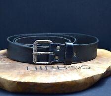 MTWTFSS Weekday Vintage Mens Leather Belt Black Size 36