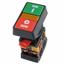 ON OFF START STOP Push Button w Light Indicator Momentary Switch Power L6