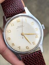 1954 Vintage Doxa Oversized Mens Dress Watch Manual Swiss 36,7mm