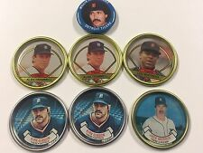 Topps Coins Coin Team Set 1987 1990 Detroit Tigers Plus Fun Foods 1984 Pin
