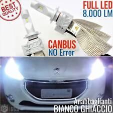 Kit Lampade Luci FULL LED PEUGEOT 208 GTI H7 6500K CANBUS fari fanali tuning