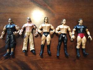WWE Jakks Pacific Action Figure Lot of 5 Vintage (Lot F)