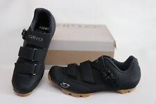 New Giro Privateer R MTB Bike Shoes 42.5 9 9.5 2-Bolt Black Men's Mountain SPD