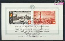 Suisse Bloc 7 (complète edition) oblitéré 1942 Pro Patria (9045605