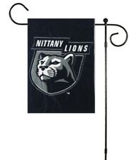 Penn State PSU Nittany Lions Applique Flag With SUCTION CUPS AND ROD Colleigate