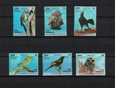 Karibik span. 2018 set of 6 ** / mnh birds Vögel Eule aves