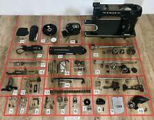 Singer 306w Sewing Machine Parts Lots Replacement Repair Great Britain 306 Black