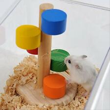 Wooden Ladder Cage Exercise Playing Toy for Hamster Mouse Rat Guinea Pig New