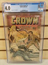 Crown Comics #1 McCombs, Winter 1944 CGC 4.0