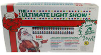 The Ultimate Light Show Christmas Lights Twin Pack With Control Box Vintage New