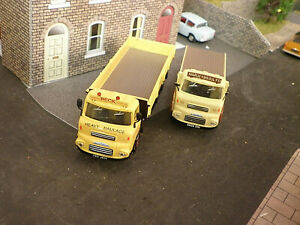 2x B-T Models Albion Lorries/Trucks OO Gauge 1/76th scale for Railway